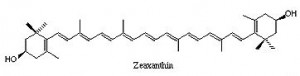 Zeaxanthin is similar to Lutein in makeup
